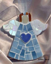 Mosaic Angel ~ Classic Angel with Design