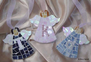 Mosaic Angels ~ Personalized Angels