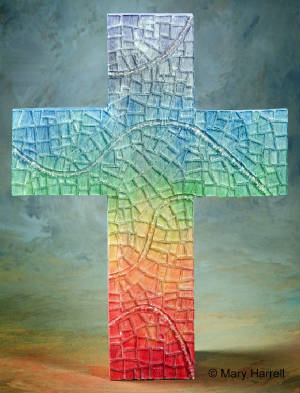 Mosaic Cross ~ Everlasting Covenant