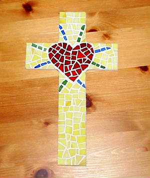 Mosaic Cross ~ Pure Radiance