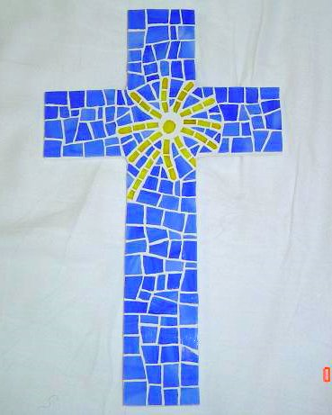 Mosaic Cross ~ Bethany Adoption Logo
